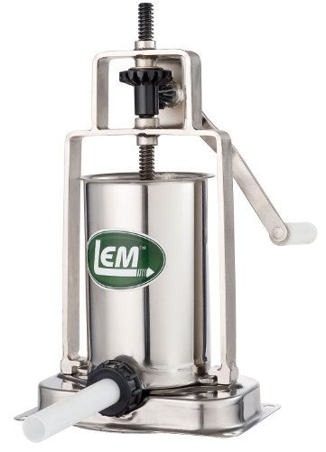 - LEM Products 5 Pound Stainless Steel Vertical Sausage Stuffer