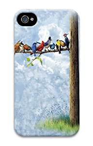 Bird Tree PC Case Cover for iPhone 4 and iPhone 4s 3D by Maris's Diary