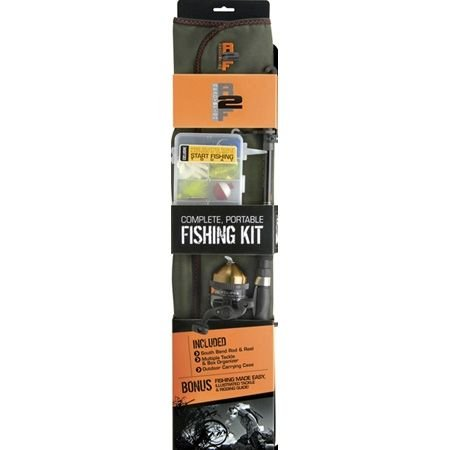 Ready 2 Fish R2F Telescopic Spinning Combo with - 2 Fish Ready Combo