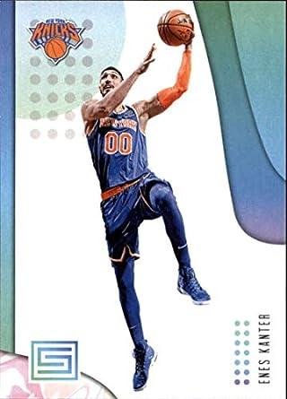 d567dca104b 2018-19 Status Basketball #60 Enes Kanter New York Knicks Official NBA  Trading Card