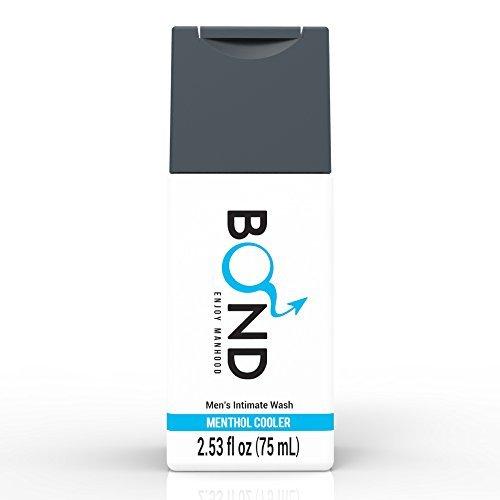 BOND Masculine Wash Men's Intimate Wash 2.5 Fl. Oz. (75mL) Hygiene Care Products for Men (Menthol Cooler-Blue) by Bond