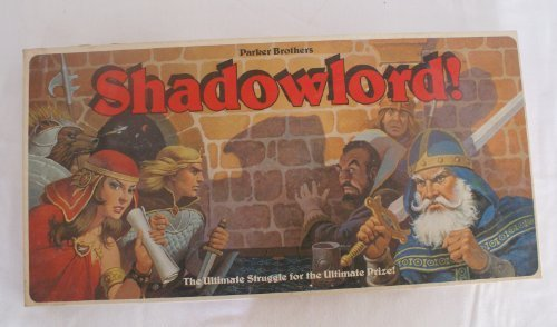 SHADOWLORD by Board Games - Science Fiction & Fantasy Parker