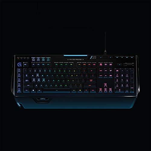 Logitech G910 Orion Spectrum Teclado Gaming Mecánico Retroiluminado, RGB LIGHTSYNC, Romer-G Táctil,9 Teclas G, Segunda Pantalla Arx, Disposición ...