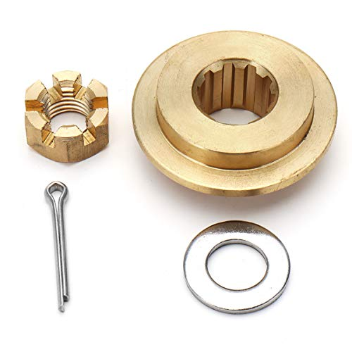 Hitommy 25-30HP Propeller Hardware Kits Thrust Washer/Nut/Cotton Pin For Tohatsu Mercury -