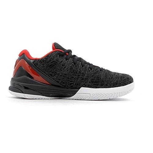 Peak–Zapatos delly2hombre negro 41 Red / Black