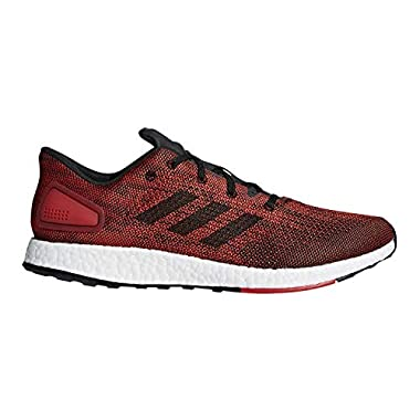 6a29684f5 adidas Pure Boost DPR Running Men s Shoes Size 9.5 Red Black