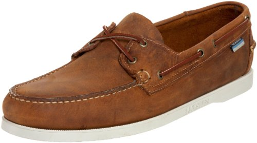 Sebago Docksides Hommes Marron Cuir Chaussures décontractées EU 44,5