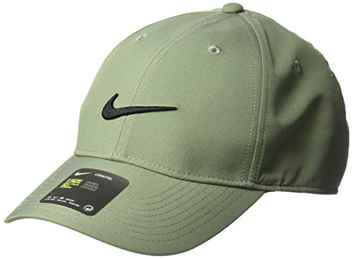 (Nike Unisex Legacy Golf Cap, Adjustable & Lightweight Hat for Men and Women, Vintage Lichen/Anthracite/Black)