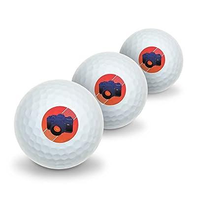 Camera Photography Photographer Novelty Golf Balls 3 Pack