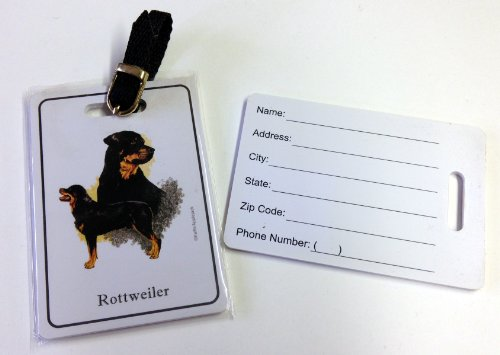Price comparison product image Luggage Tag - Rottweiler