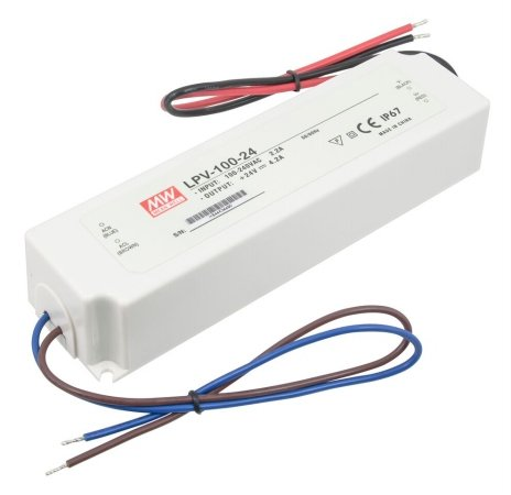 American Lighting 150W 24V DC Constant Voltage LED Hardwire Power Supply Driver, ()