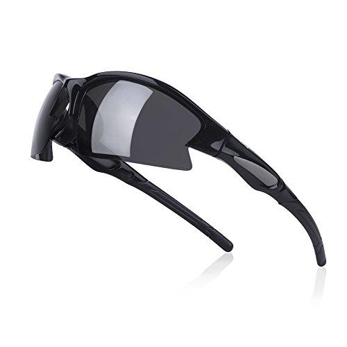 O2O Polarized Sports Sunglasses UV400 Protection Tr90 Frame for Running Driving Baseball Golf Hiking Cycling Fishing