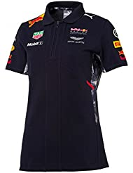 Red Bull Racing Formula 1 Womens Puma 2017 Navy Team Polo