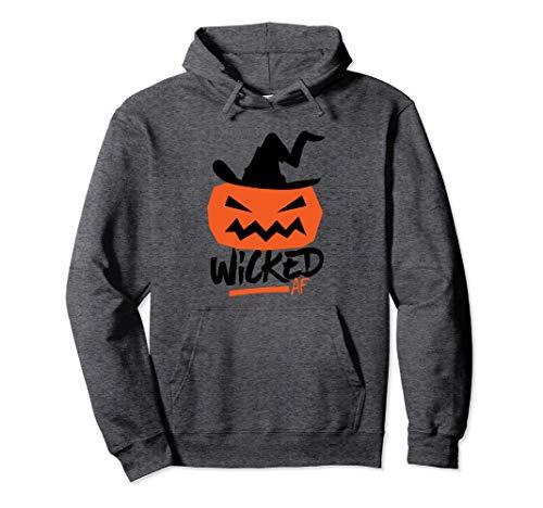 Jack O' Lantern Pumpkin Wicked AF Witch Hat