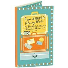 Travel Shaped Sticky Notes