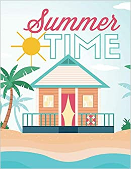 Amazoncom Summer Time A Summer Coloring Book For All Ages