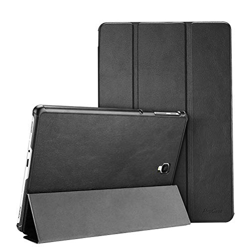 ProCase Galaxy Tab S4 10.5 Case, Slim Light Stand Hard Shell Cover Protective Case for Samsung Galaxy Tab S4 10.5-Inch Tablet SM-T830 T835 T837 -Black