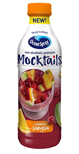 (Ocean Spray Mocktails, Cranberry Sangria, 1 Liter Bottle (Pack of 8))