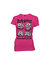 Ripple Junction Big Bang Theory Soft Kitty Multiple Poses Junior T-Shirt