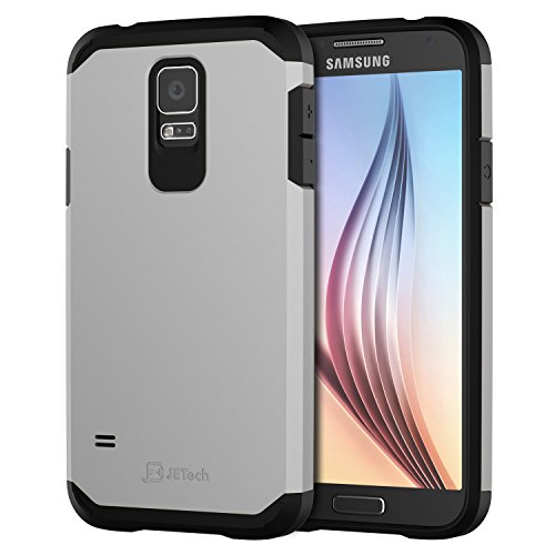 JETech Samsung Galaxy Protective Silver