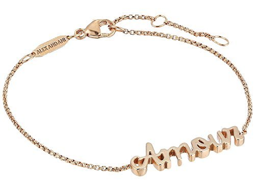 Amour Necklace - Alex and Ani Women's Amour Adjustable Bracelet 14kt Rose Gold Plated One Size