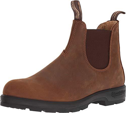 Blundstone Super 550 Series Boot - Men's Crazy Horse, US 10.5/UK - Horse Footwear Brown Crazy