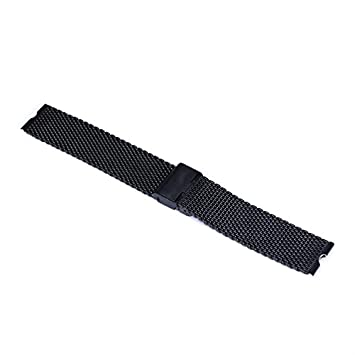 Japace® 22 mm de acero inoxidable Malla Replacement Uhrenarmband Correa De Reloj Pulsera Watch Band correa de acero Venda De Reloj para el Motorola ...
