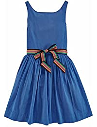 Polo Girls Sateen Blue Sleeveless Party Dress · 42 Prime. Product Details. RALPH  LAUREN