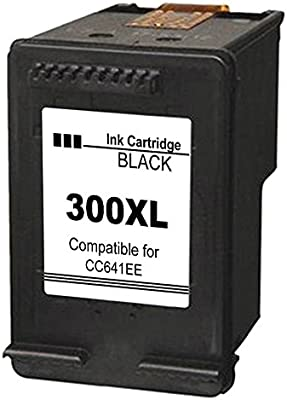 Kyansin Remanufacturado 300 300XL Cartuchos de Tinta Alto Rendimiento 300 XL (CC641EE y CC644EE) Compatible con HP DeskJet D1660 / D2660 / D5560 / ...