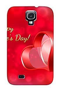 New Happy Valentine Day Tpu Skin Case Compatible With Galaxy S4/ Perfect Design