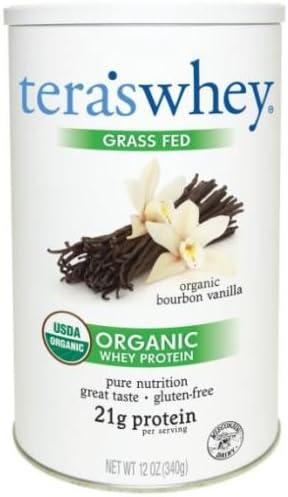 Tera s Whey Organic Protein, Bourbon Vanilla,12 Ounce