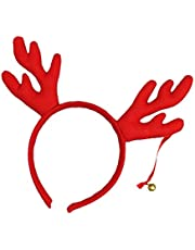 Fenteer Antlers Reindeer Headbands Headdress Xmas Hair Hoops Cosplay Party