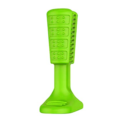 Keep Comfort Mascotas Bristly Brushing Stick El Cepillo de Dientes más eficaz para Perros Higiene Juguete