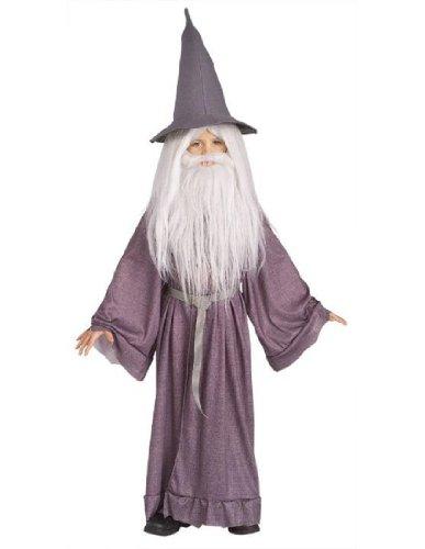 Gandalf Beard And Wig Set (Gandalf Kids Costume)