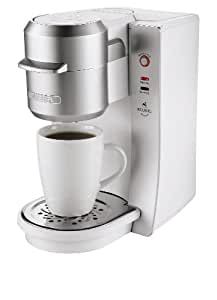 Mr. Coffee BVMC-KG2W-001 Single Serve Coffee Brewer, White