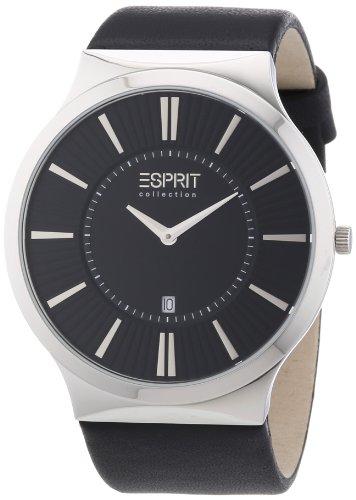 Esprit EL101381F03 - Men's Wristwatch, Leather, color: Black