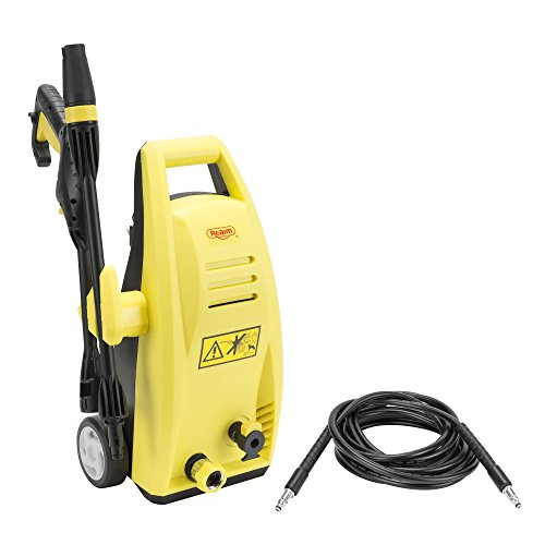 - Realm BY01-VBJ Electric Pressure Washer with Foam Cannon, Adjustable Nozzle,19ft Hose (1600PSI 1.6GPM)