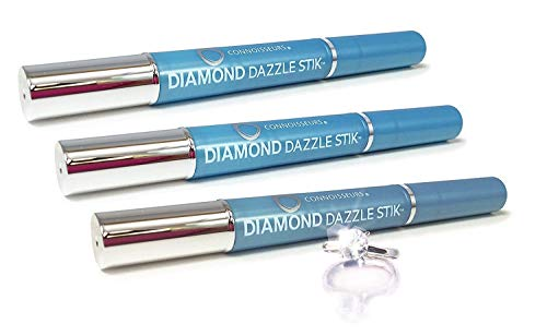 Connoisseurs Diamond Dazzle Stik Jewelry Cleanerto Bring out the Bling 3-PAck