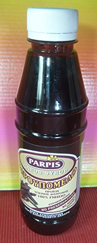 Syrup Nutritional Information - CYPRUS PARPIS CAROB SYRUP 100% NATURAL & PURE 300 GRS N.W -NUTRITIONAL VALUE INFORMATION 100%