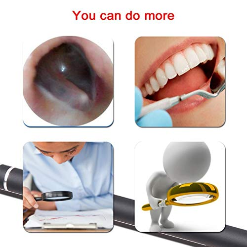 Medical Endoscope 0.3MP High Definition Inspection Snake Tube Pipe Camera for Visible Ear Cleaning for Laptop Phone by Detectoy (Image #1)