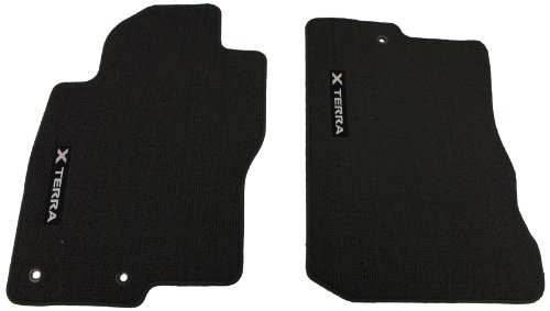 Genuine Nissan Accessories - Genuine Nissan Accessories 999E2-KR010CH Custom Fit Carpeted Floor Mat - (Charcoal)