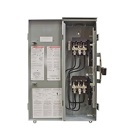 amazon com winco 200 amp 3 phase outdoor manual transfer switch rh amazon com GE Manual Transfer Switch 200 amp manual transfer switch for home generator
