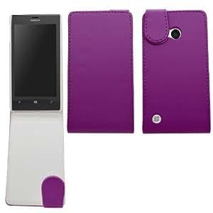 Samrick Specially Designed Leather Flip Case for Nokia Lumia 720/720 RM-885 - Purple by SAMRICK
