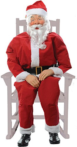 Morris Costumes Rocking Chair Santa Boxed ()