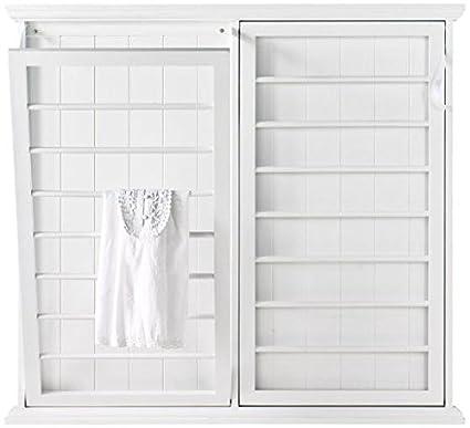 Amazoncom Madison Fold Down Wall Mounted Laundry Drying Rack 42
