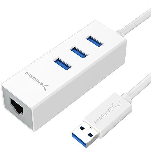 Sabrent 3 Port Gigabit Ethernet HB NTUW