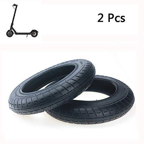 Yifant Outer Tubes 10 x 2 Pack of 2pcs Modified Tires for Xiaomi M365 Electric Scooter Accessories Spare Tire Replacement Wheels
