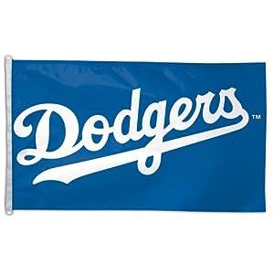 LA Dodgers Sports Baseball Team Wall Flag Banner