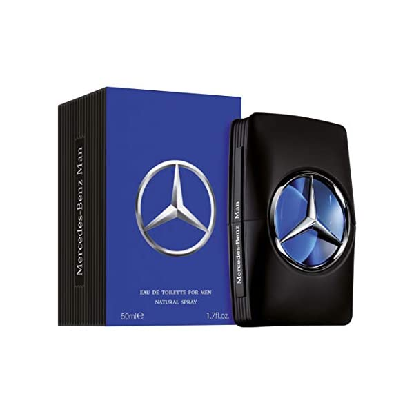Mercedes-Benz Eau De Toilette for Men, 50ml Luxury