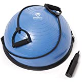 URBNFit Balance Trainer Stability Half Ball with Resistance Bands, Pump and Workout Guide - Improve...